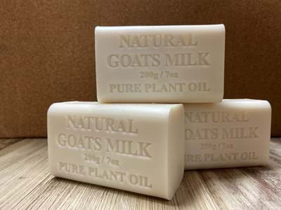 Soap Natural Goats Milk 3 bars for $10.00