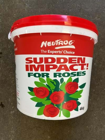 Neutrog Sudden Impact for Roses